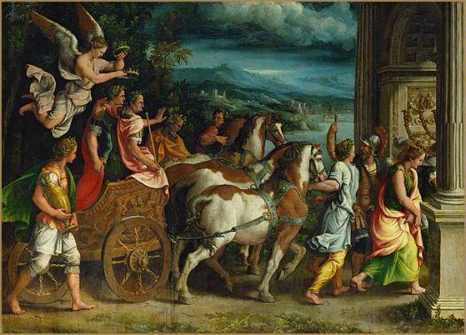 triomphe-titus-vespasien-romano-louvre