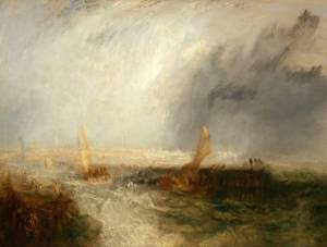Ostend exhibited 1844 by Joseph Mallord William Turner 1775-1851