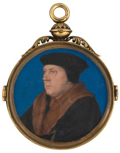 NPG 6310; Thomas Cromwell, Earl of Essex attributed to Hans Holbein the Younger