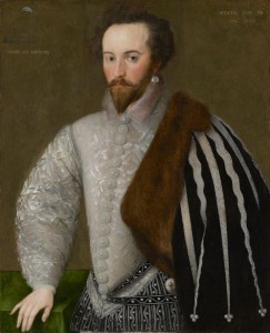 NPG 7; Sir Walter Ralegh attributed to 'H'