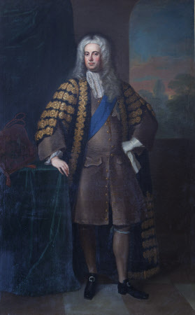 Sir Robert Walpole, 1st Earl of Orford, KG (1676-1745) by William Aikman (Forfar 1682 ¿ London 1731)