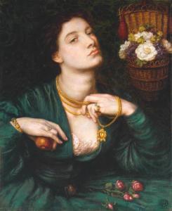 Monna Pomona 1864 Dante Gabriel Rossetti 1828-1882 Presented by Alfred A. de Pass 1910 http://www.tate.org.uk/art/work/N02685