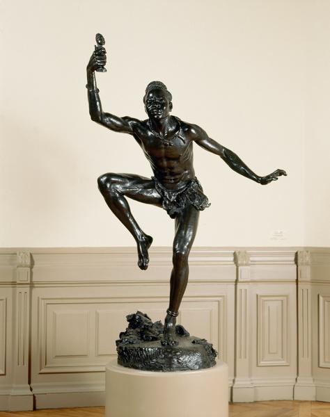 Le Sorcier, Herbert Ward, 1902, Musée des Beaux-Arts de Nantes